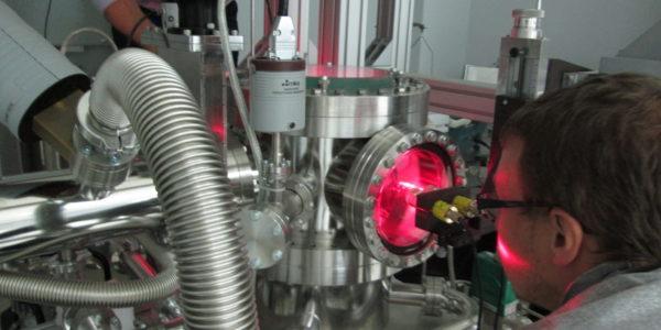 Работа в лаборатории пылевой плазмы